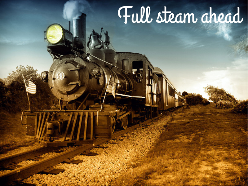 Full steam ahead - borderless
