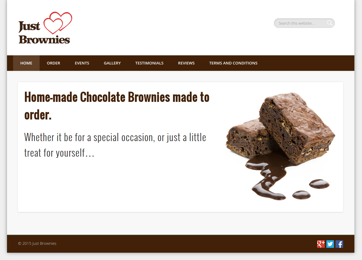 Just Brownies