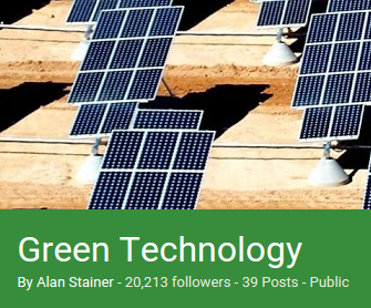 Green Technology collection - follower count
