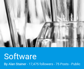 Software collection follower count